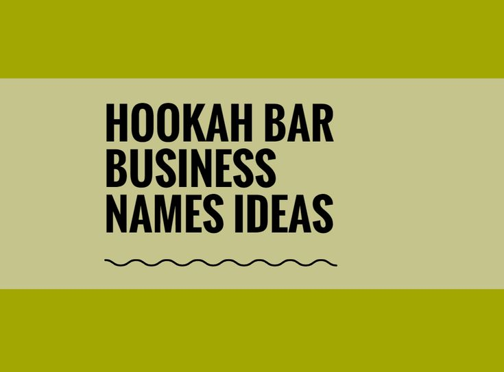 While your business may be extremely professional and important, choosing a creative company name can attract more attention.A Creative name is the most important thing of marketing. Check here creative, best Hookah bar business names ideas for your inspiration.