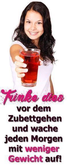 Trinke dies vor dem Zubettgehen und wache jeden Morgen mit weniger Gewicht auf …