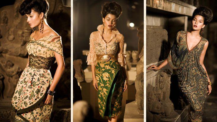Modern Batik Dress by Danar Hadi