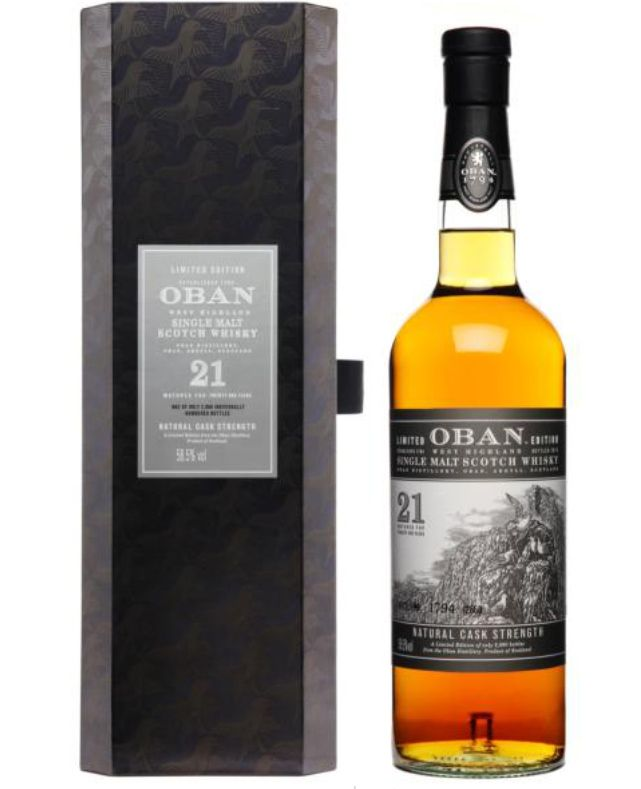 oban whisky - 2013 Release 21 years old