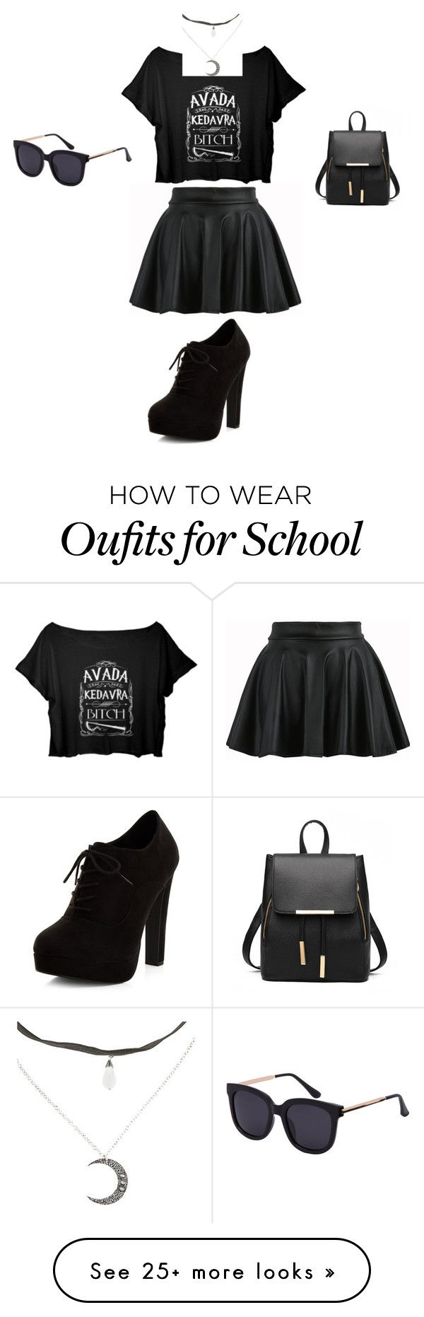 """""""Last Day of School!"""" by animeworld on Polyvore featuring New Look"""
