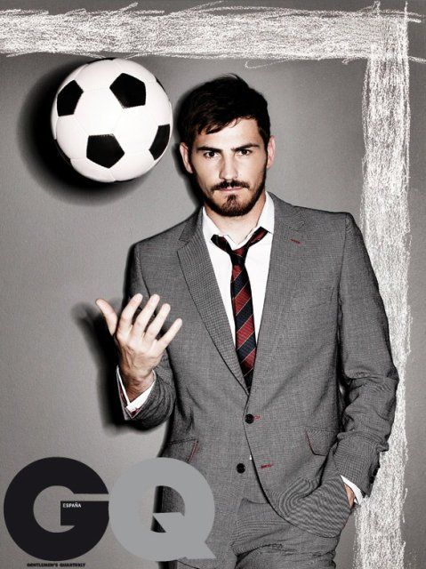 Iker Casillas (20 May 1981), Spanish professional footballer.