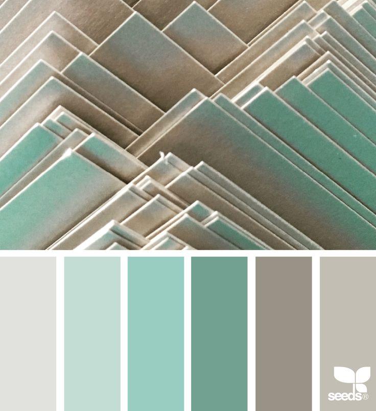 Color Cards via @designseeds #seedscolor #color #colorpalette #color #palette #pallet #colour #colourpalette #design #seeds #designseeds #tan #beige #mint #aqua
