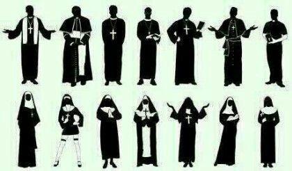 교회복장은 다양하구나