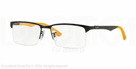 Okulary Ray-Ban RX8411 54 2503 są modelem bardzo modnym o ciekawej stylistyce. Rodzaj okularów unisex powoduje to, że każdy będzie w nich dobrze wyglądał.