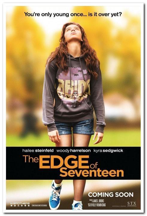 Резултат с изображение за the edge of seventeen poster