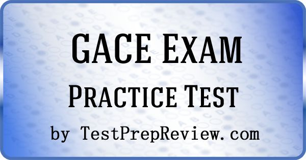 Free GACE Practice Test Questions by TestPrepReview.  Be prepared for your GACE test. #gace