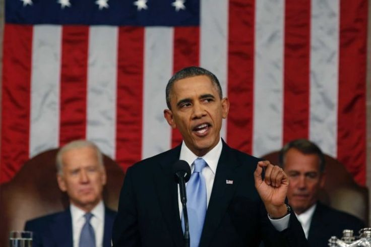 Obama's state of the union 2014...promises, promises, promises -     The Democratic president is facing the lowest approval ratings since first taking office in 2009.   Just over a year after his re-election, Mr Obama must contend with determined opposition f...