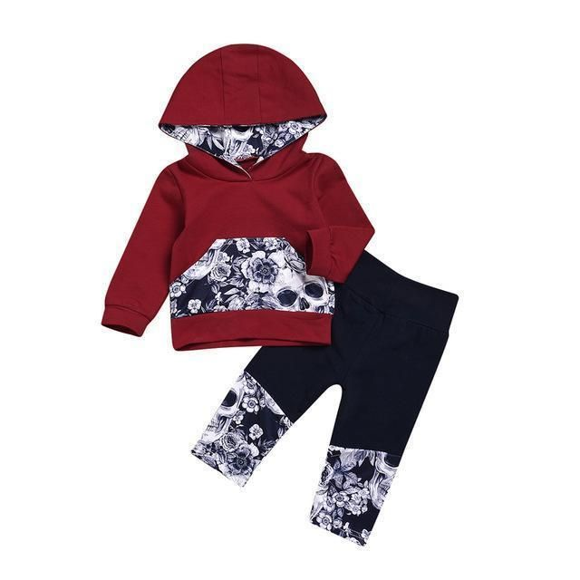 2018 Baby Kids Girls Minnie Clothing Set Children Autumn 3 Pcs Sets Hooded