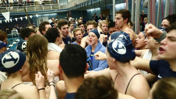 BYU swim and dive: 29 Cougars receive all-academic awards