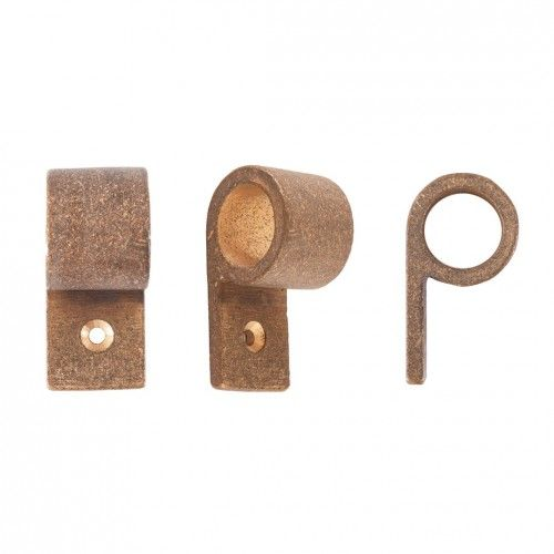 Pure PFL furniture knob in Raw Bronze (RB). More finishes and furniture pulls online on www.dauby.com!