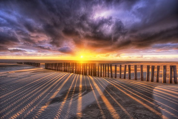 beautiful hdr sunset