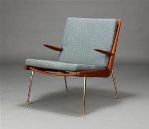 Peter Hvidt & Orla Mølgaard-Nielsen. Boomerang-Chair. Hvilestol