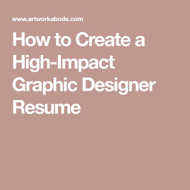 The 25+ best Graphic designer resume ideas on Pinterest Graphic - graphic designer resume