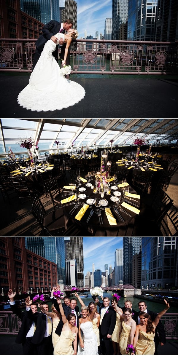 Adler Planetarium Wedding by LK Events + Vrai Photography