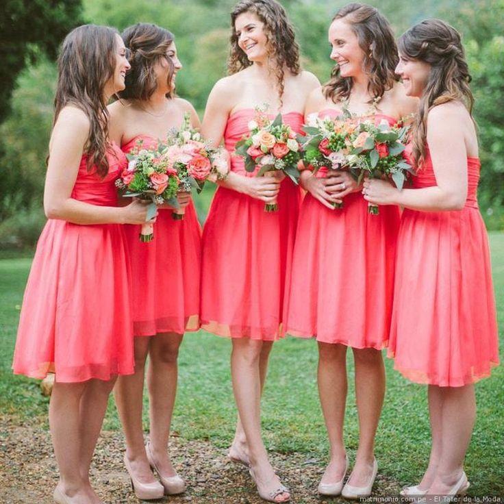 Mejores 26 imágenes de Novia y damas de honor en Pinterest | Boda ...