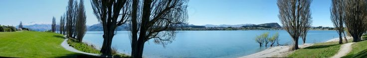 New Zealand (Wanaka) - million dollar view!  A memorable relaxing spring holiday!