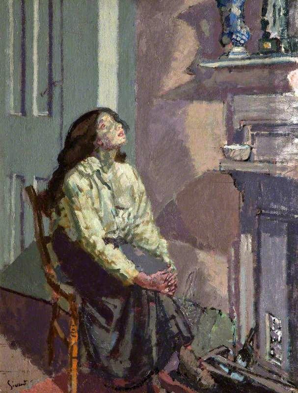 Suspense  -  Walter Richard Sickert