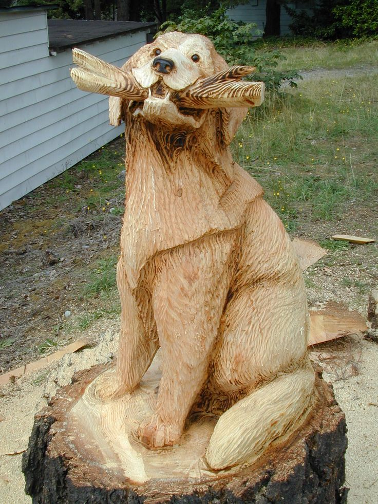 Best a carvings canine images on pinterest carved