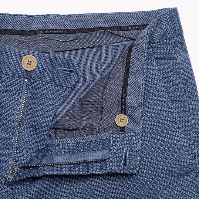 Tommy Hilfiger Hilfiger Straight Fit Chino - dark denim -pt (Blue) - Tommy Hilfiger Trousers - detail image 3