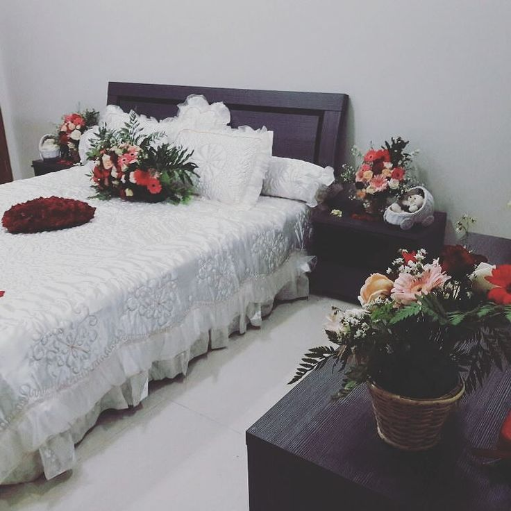 19 best romantic bedroom ideas for wedding night images on pinterest dekorasi kamar pengantin fresh flower masih harga proml 12 jt sd dp agustus ini thx to arniz by starangela wedding organizer info pin bb sherlyag junglespirit Image collections