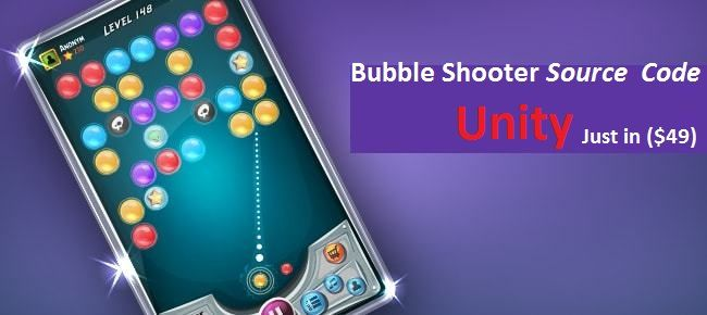 Bubble Shooter: Elements of Bubble Shooter Source Code Unity