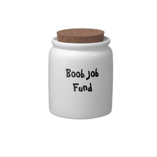 Boob Job Money Jar 81