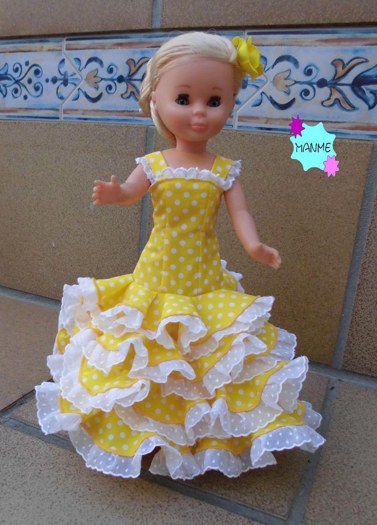 vestido flamenca amarillo - Buscar con Google