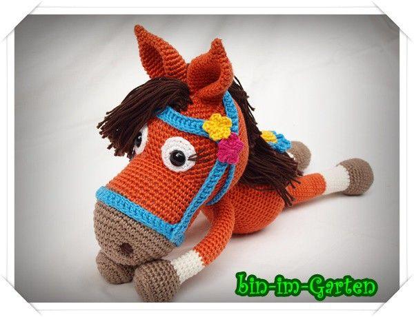 Häkelanleitung Pony - Amigurumi jetzt häkeln