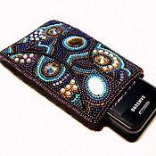 Catherine Deomidova - beaded cell phone case