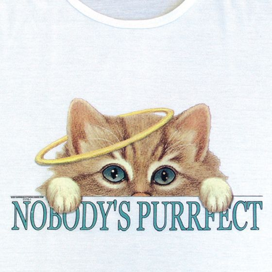 Nobodys Purrfect Nightshirt