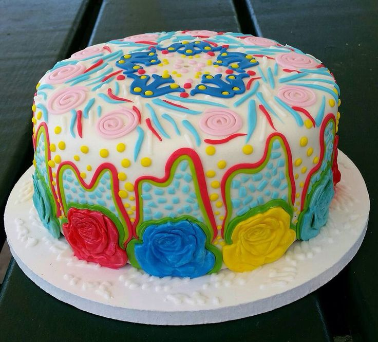 Lily Pulitzer cake