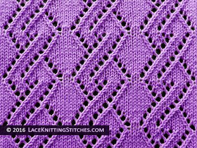 Knitting Stitches Lace Simple : Best 25+ Lace Knitting Stitches ideas on Pinterest
