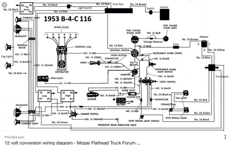 P15 Wiring Diagram Trusted Diagrams 1951 Ford Turn Signal 1948 Plymouth: 1948 Plymouth Wiring Diagram At Anocheocurrio.co