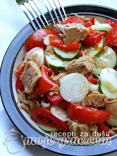 Jednostavne salate od svezeg povrca