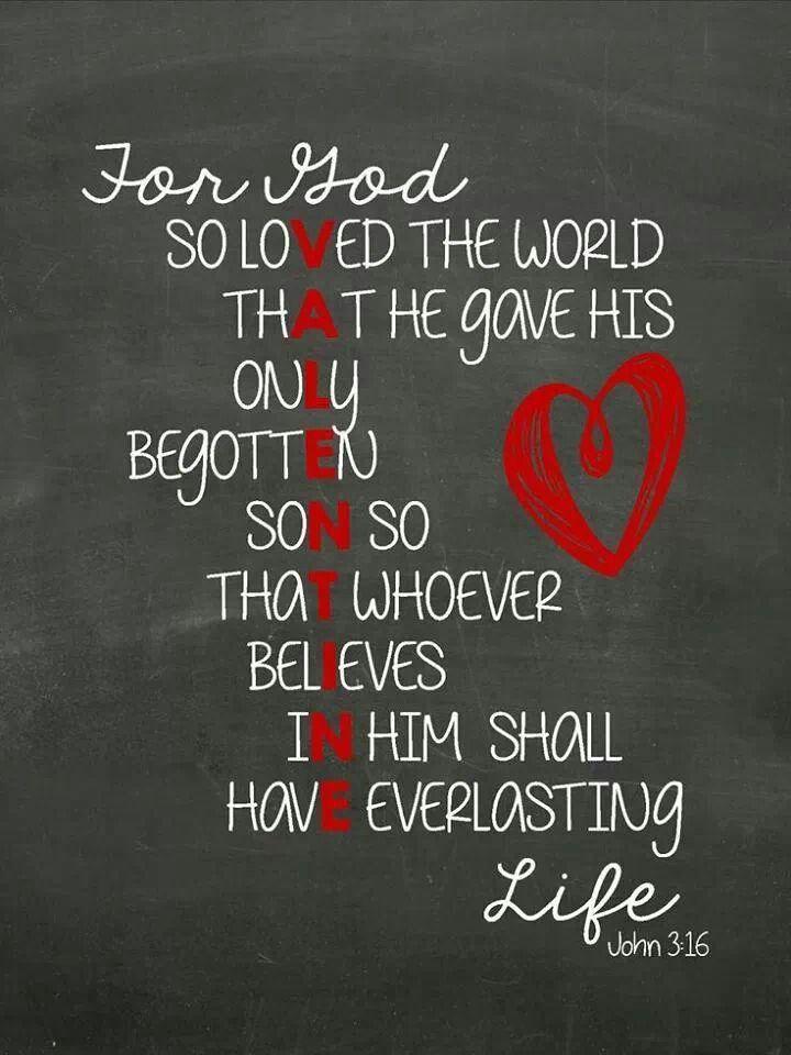 Best Valentine's message ever!