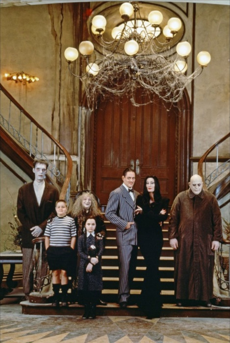 They're creepy and they're kooky,
