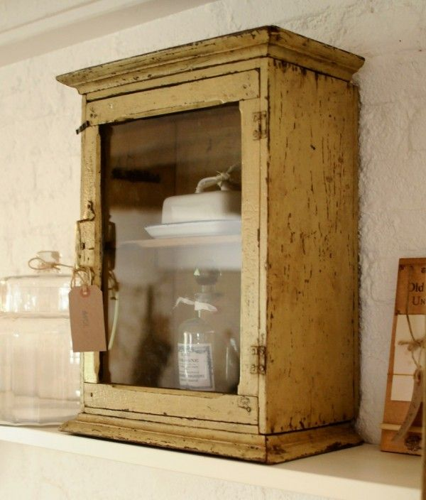 A Beautiful Antique Indian Wall Cupboard, Available To Purchase At DeVOL