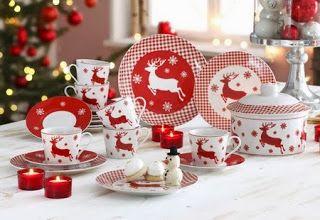 Tumbles Into Wonderland: leuk kerst servies!