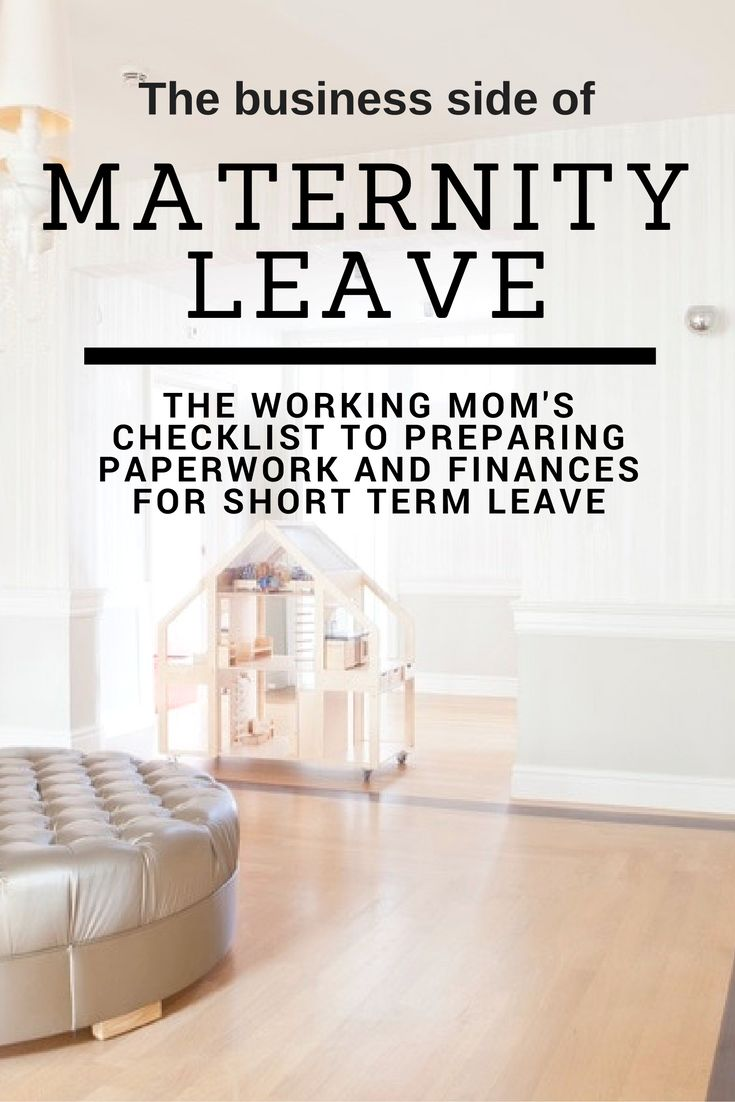 Hey working mom, have you prepared paperwork for maternity leave? Click through for your checklist of ways to prepare for maternity leave so you can enjoy your time with your new baby!