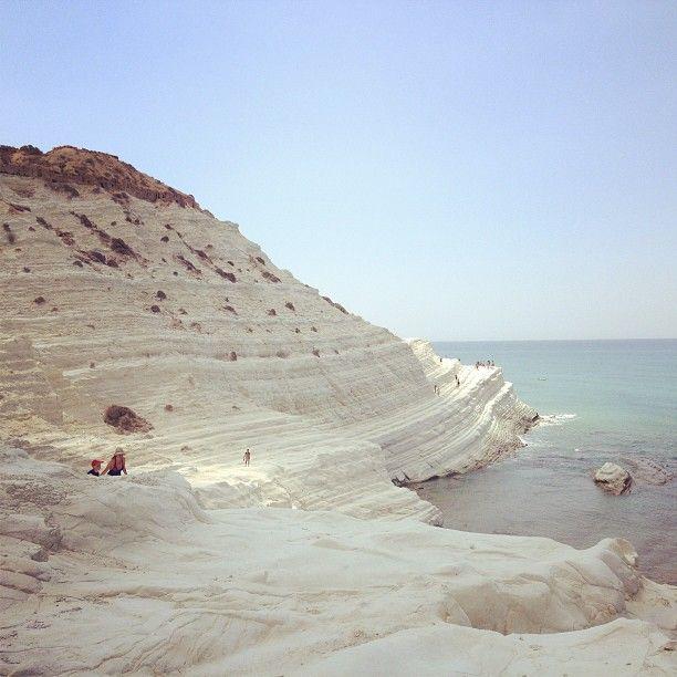 Spiaggia Scala dei Turchi di Realmonte, Agrigento, Sicilia