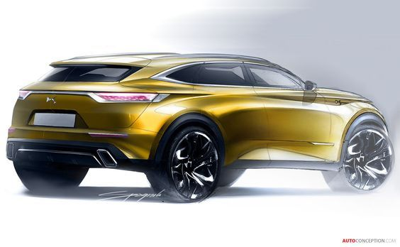 2018 DS 7 Crossback:
