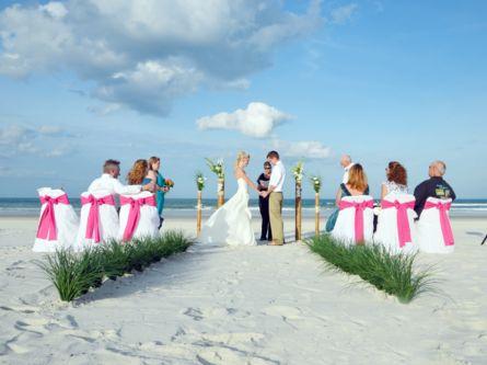 St. Augustine Beach Wedding Package - Florida Beach Weddings