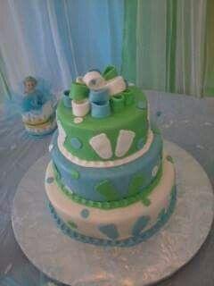 Cake baby boy cute