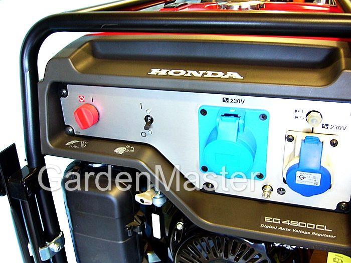 Generatore Honda EG4500 CL con AVR per dispositivi elettronici.  Gurdalo sul sito.