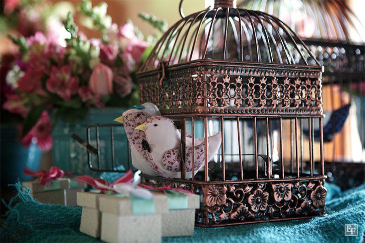Gaiolas na decoração - Casinha Arrumada