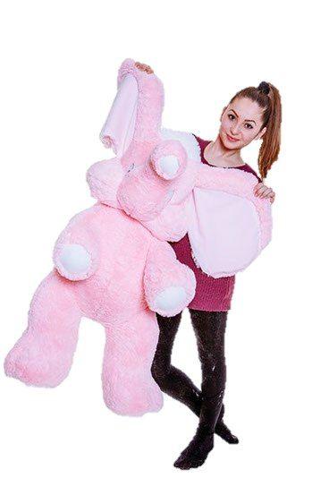 Мягкая игрушка Слон 120 см  Цена: 893 UAH  Артикул: С6-24   Подробнее о товаре на нашем сайте: https://prokids.pro/catalog/igrushki/myagkie_igrushki/myagkaya_igrushka_slon_120_sm/
