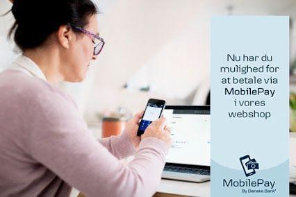 Nu kan du købe dit sexlegetøj endnu nemmere i 4ushop.dk - bestiller du alligevel fra en tablet eller mobil har du nemlig dit betalingsmiddel lige på dig - nu kan du betale nemt og enkelt med MobilePay direkte i 4ushop.dk