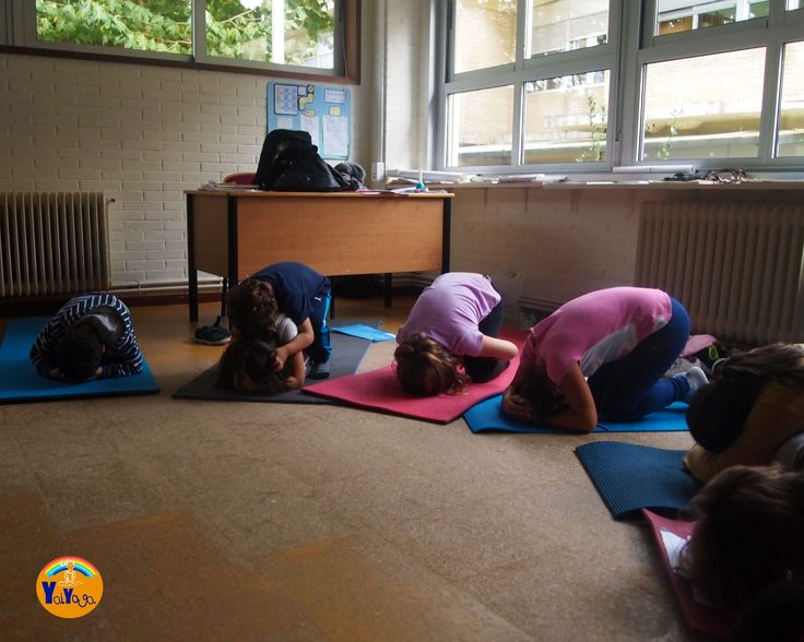 Yoga en el colegio. #kidsyoga #yogaintheschool