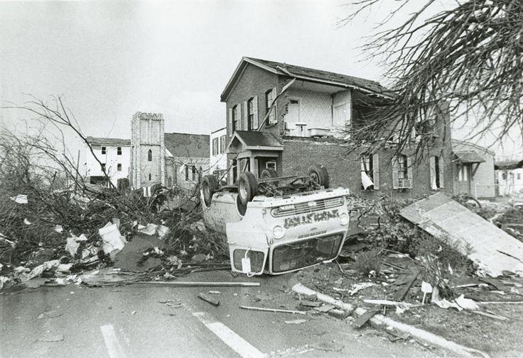 Xenia Tornado Destruction 1974 Ohio Pinterest Tornados